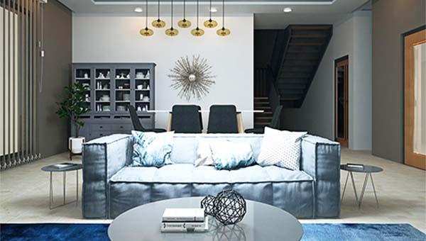 4 bedroom house for sale in Ghana-living room