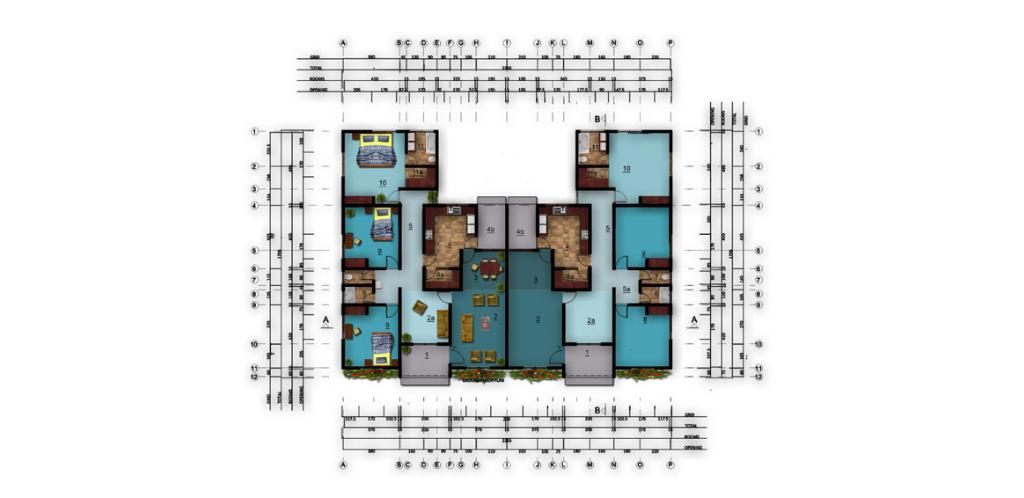 Deligreen floor plan